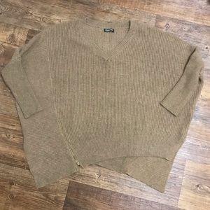 Fashion Nova Asymmetrical Sweater